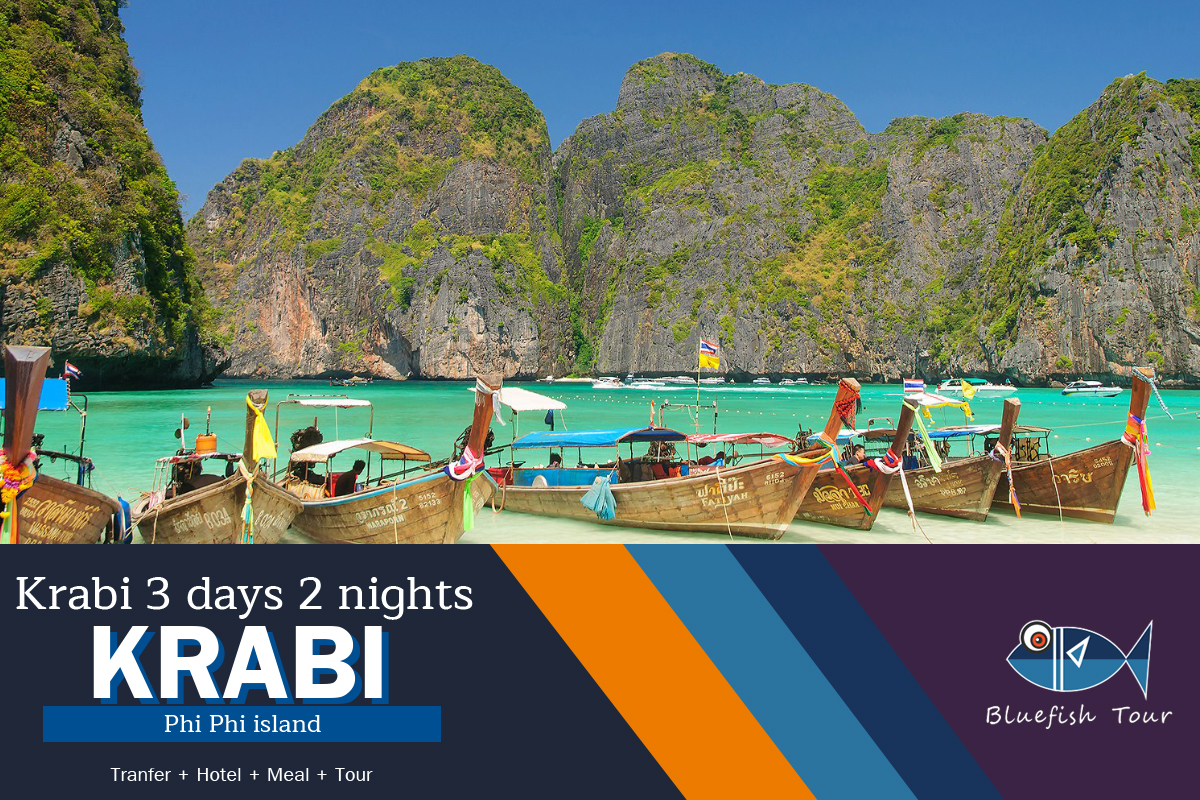 Package Krabi 3 days 2 nights Phi Phi Island